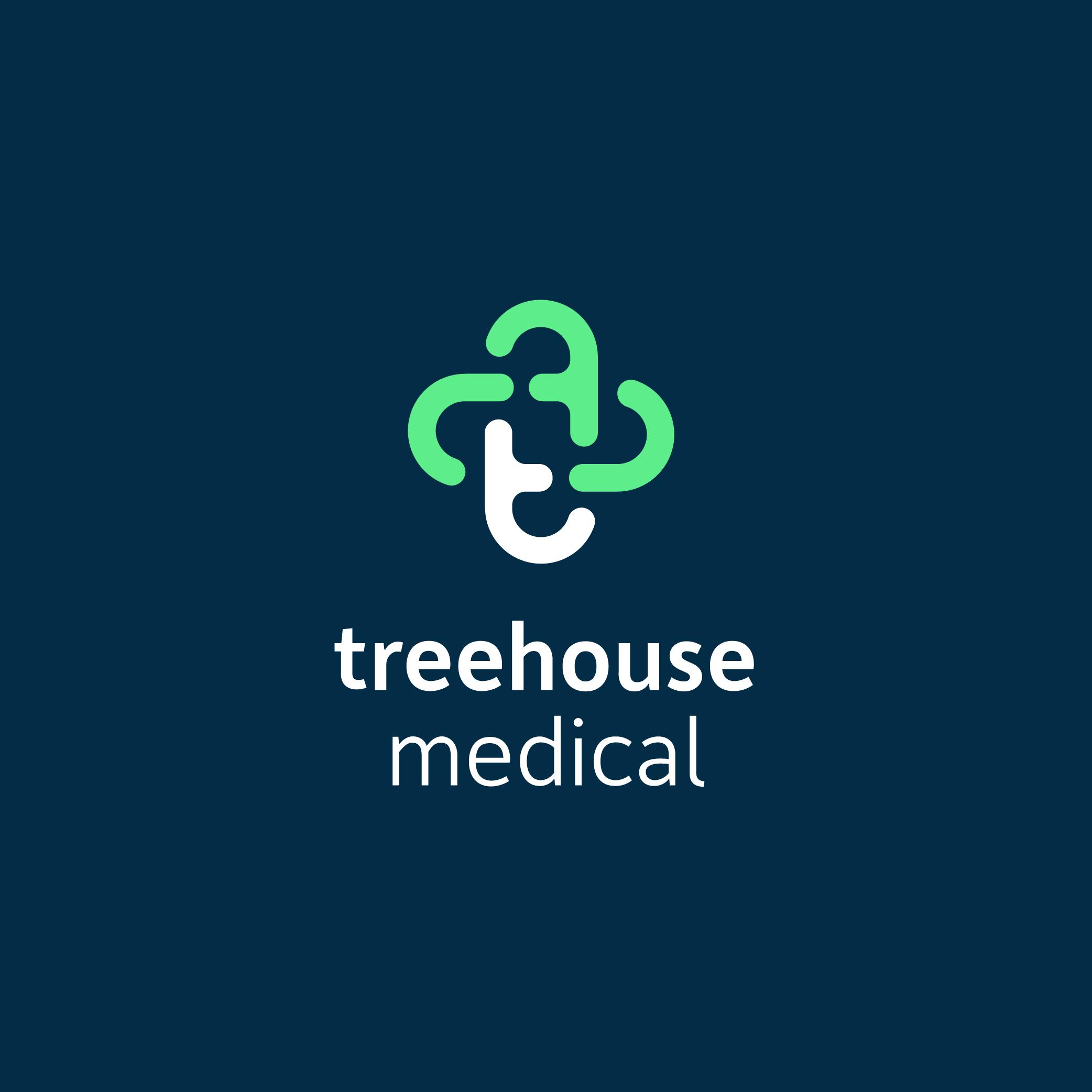 treehouse medical logo design
