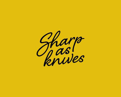 Logo design for Sharp as Knives
