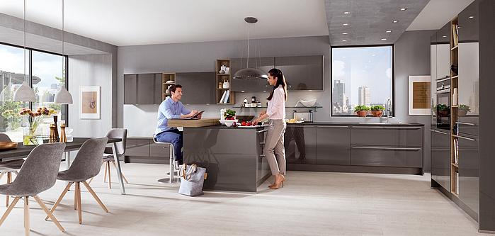 Nobilia Lux 823 Kitchen