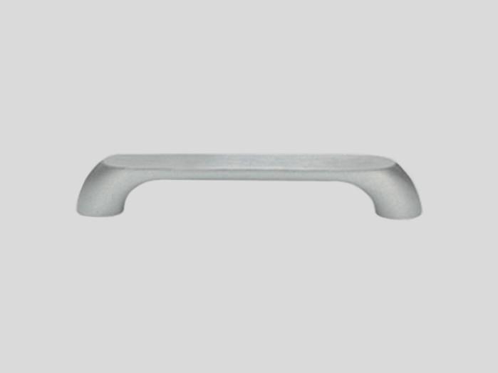 Metal handle, Stainless steel finish, Matt