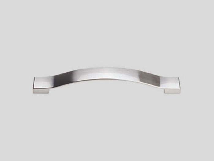 Metal handle, Stainless steel finish, Gloss