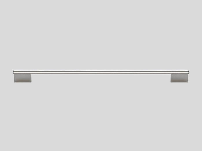Railing handle, Stainless steel finish, Gloss