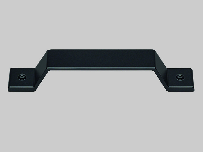 Metal handle, Black
