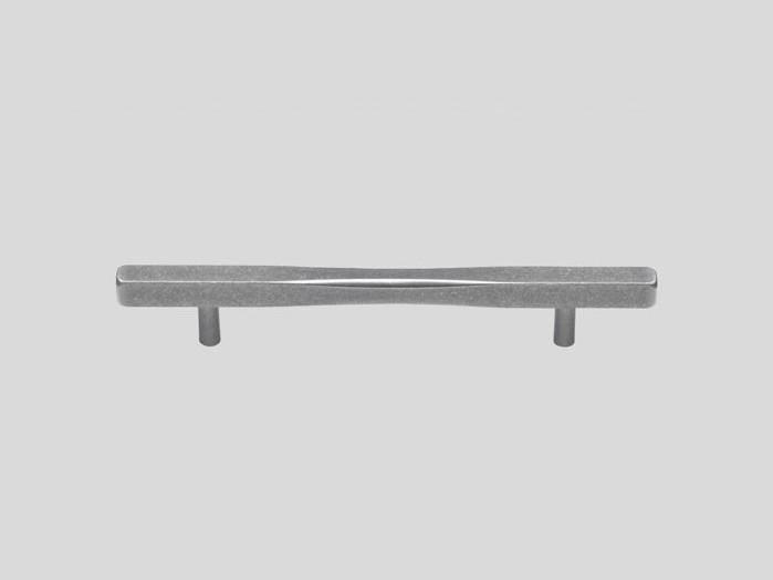 Aluminium handle, Used look, Matt