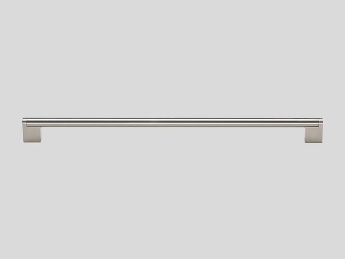 Railing handle, Stainless steel finish, Matt