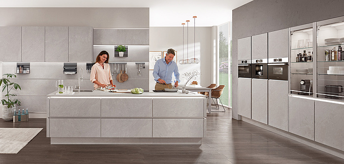 Nobilia Stoneart 304 Kitchen