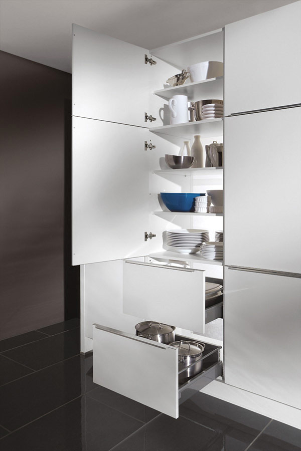 Tall Larder Unit with Shelves