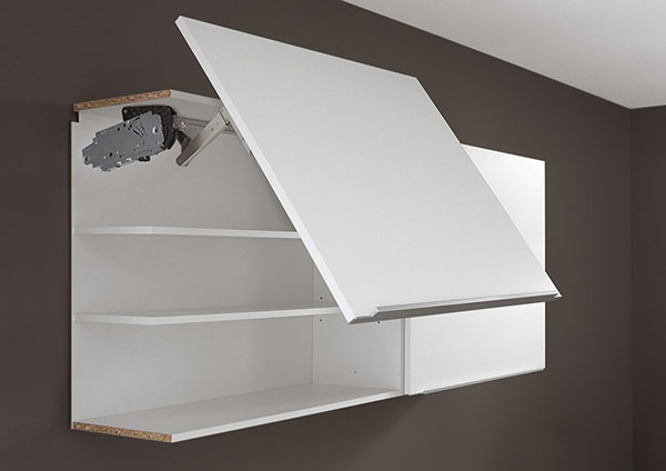 Wall Unit with Lift-Up Door