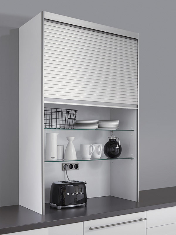 Top Unit with Laminate Roller-Shutter
