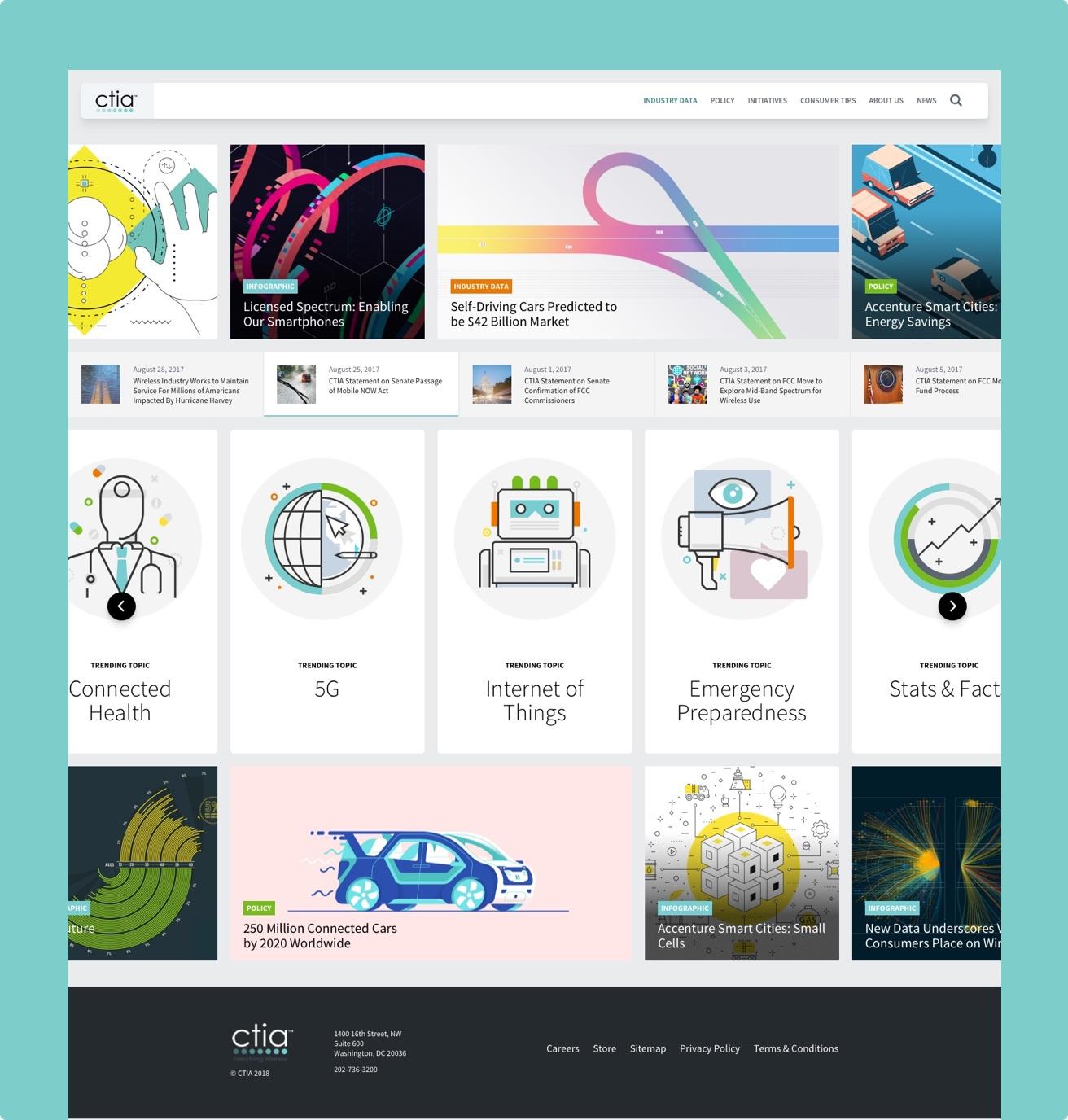 Poulos CTIA Homepage