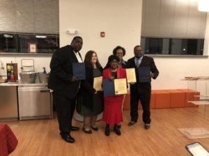 New Haven reentry service award winners
