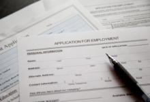 Image of job application