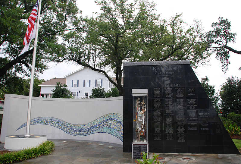 Hurricane Katrina Memorial   Katrina Response