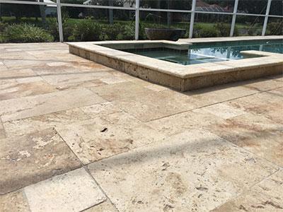 Pool decking restoration in Tampa, FL