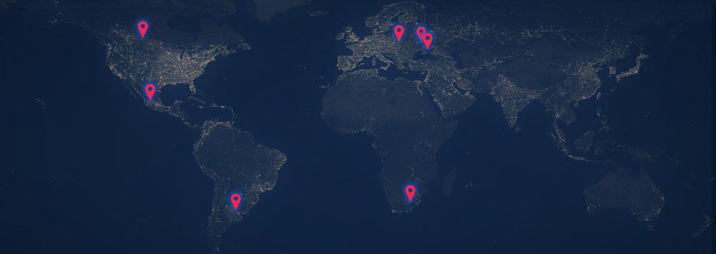 Fuel global teams network map