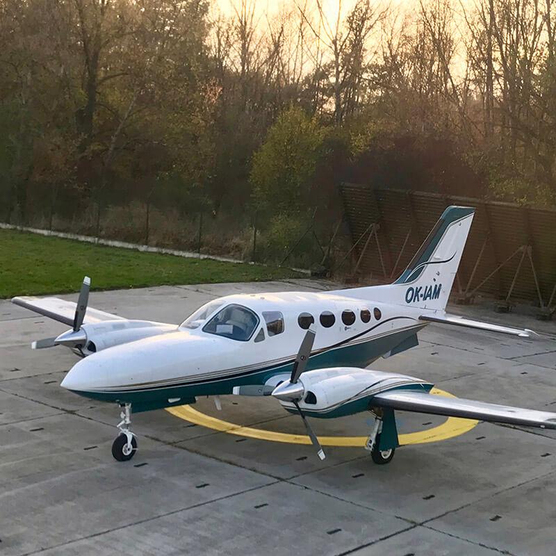 Cessna 421C Golden Eagle OK-IAM