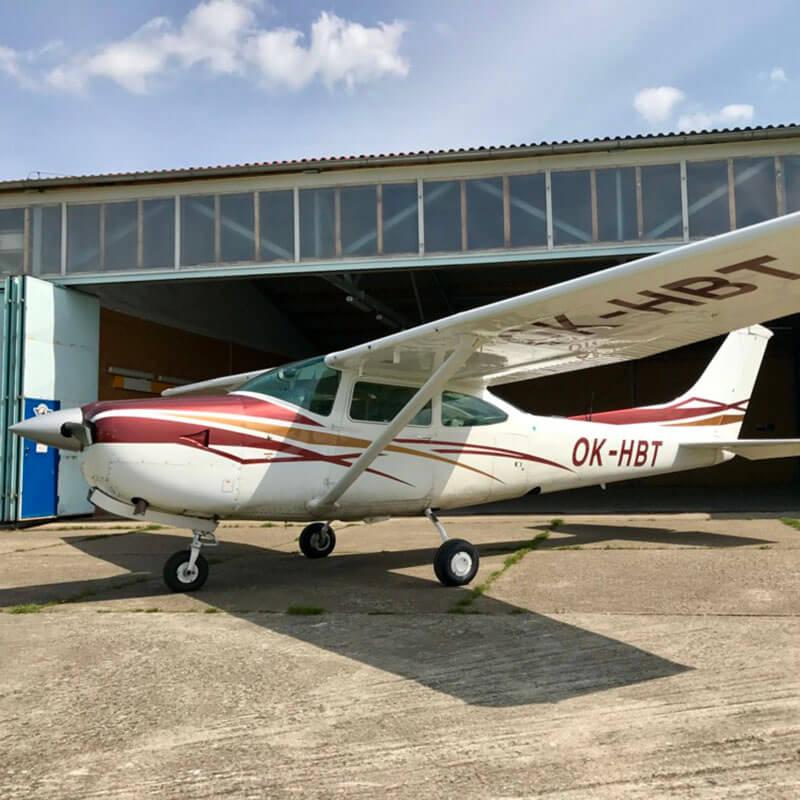 Cessna 182RG Turbo OK-HBT