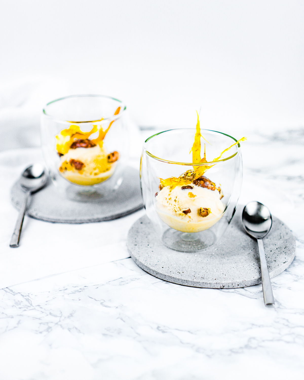 Honeybush-Tee Eiscreme