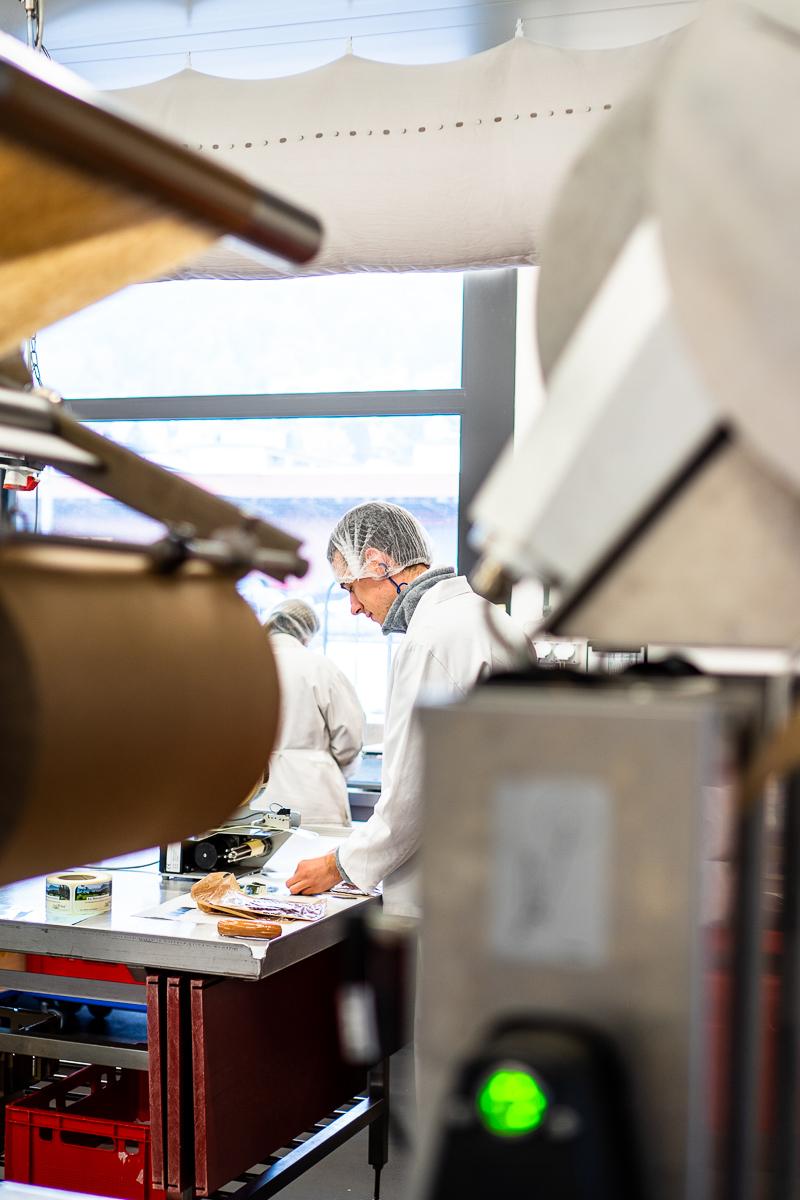 Mitarbeiter-Fotos für Bio-Metzgerei