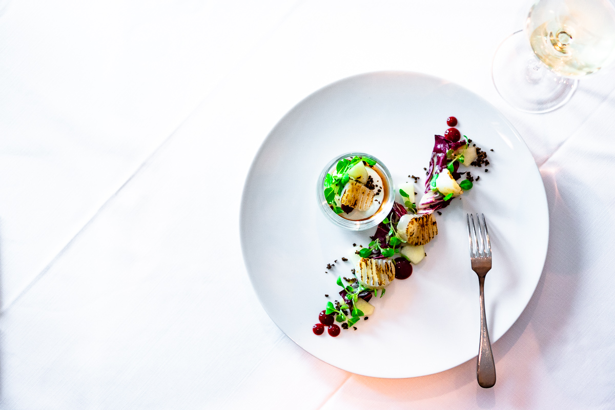 Food Fotografie für Sterne Menü