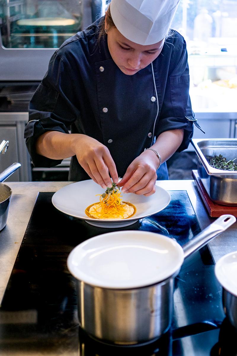 Restaurant Fotografie vom Küchenteam