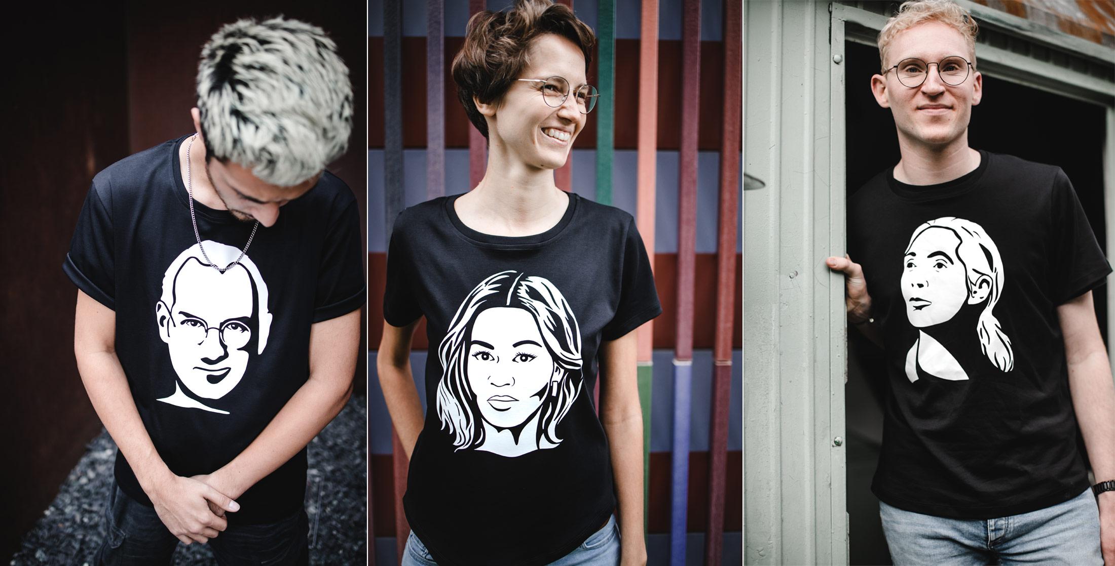 portrait52 Portrait T-Shirts