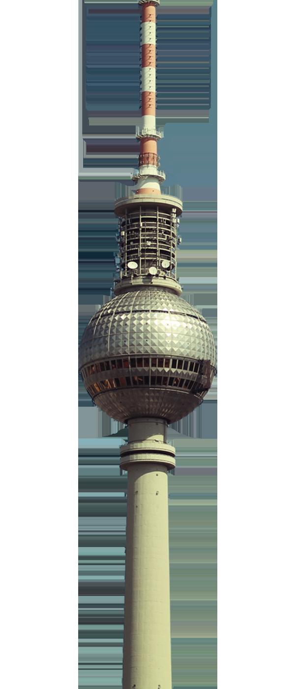 Der Berliner Fernsehturm: Was typisch Berlin ist, erfährst Du im Berlin Code Buch