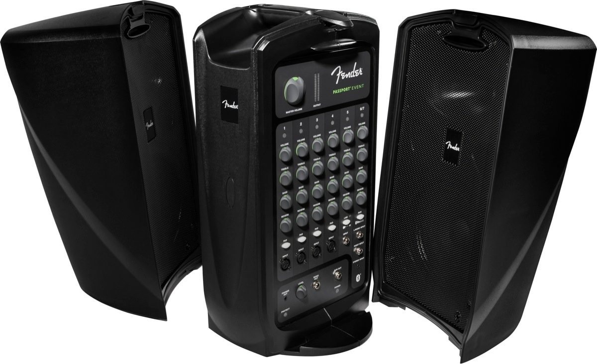 This self-contained PA system includes 2 speakers and a 7-channel mixer with 4 microphone inputs (NOTE: Fun Services supplies 1 microphone). With 375 watts of power, it's ideal for mid-sized events. Customer supplies music if desired. Bluetooth compatible.