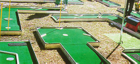 A traditional mini-golf course. (Requires minimum 30' x 30' area)