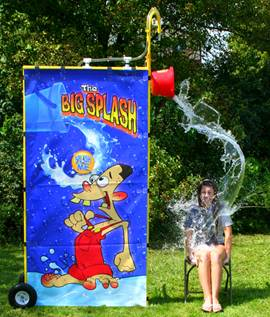 Get drenched with this fun bucket spill!
