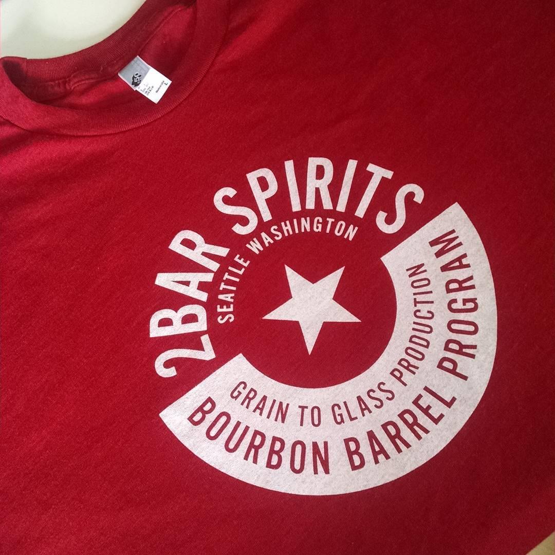 custom american apparel printed shirt