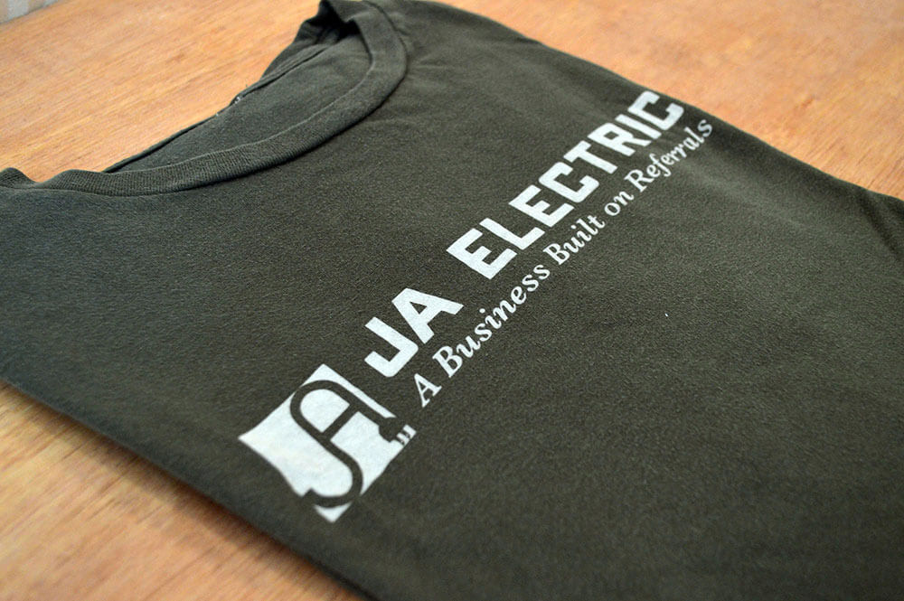 screen printing business shirts