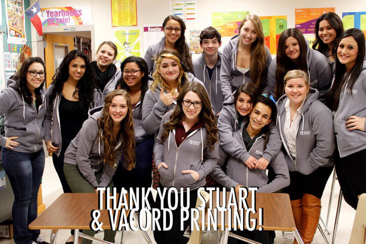 Thank you Vacord Screen Printing