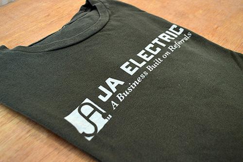 screen printing business shirts