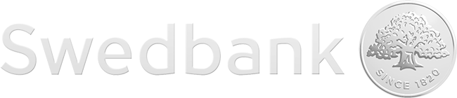 Swedbank logo.