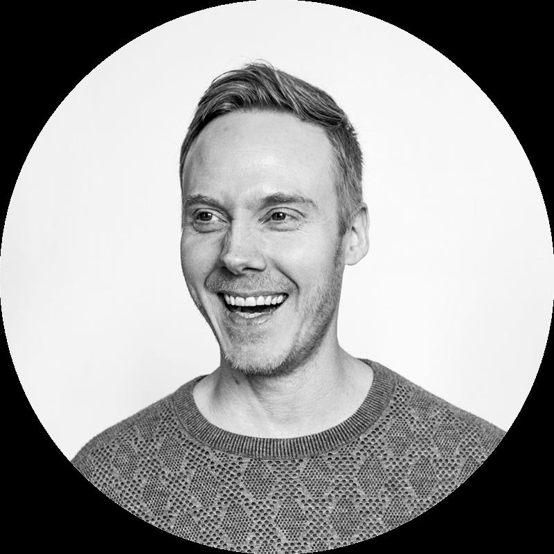 Bilde av Kristian E. Sjølie – Senior designer i Komité.
