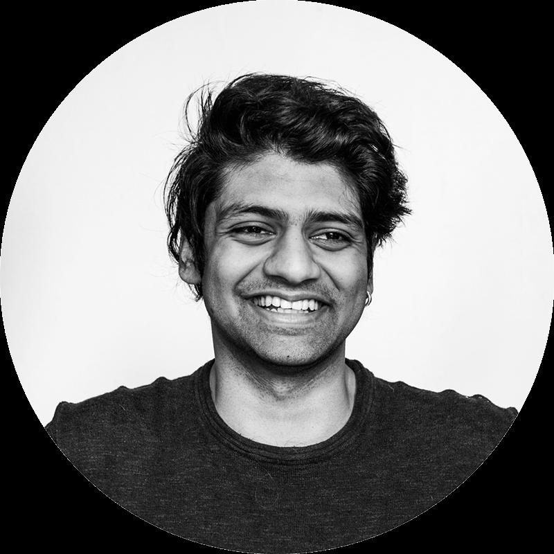 Bilde av Sahil Singh – Motion designer i Komité.