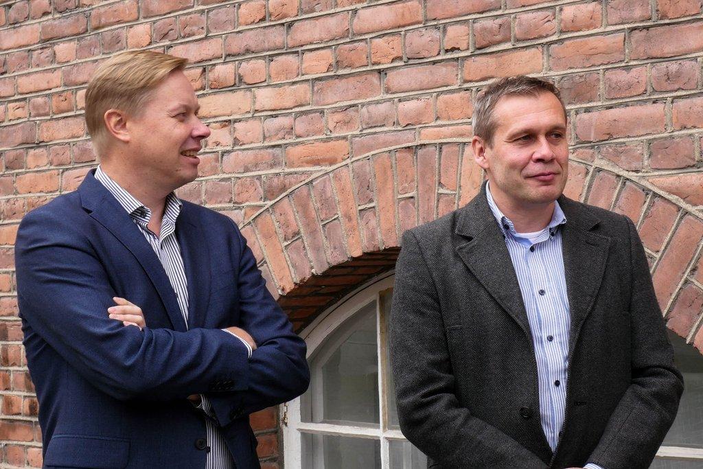 Mika Korhonen ja Petteri Mustalahti