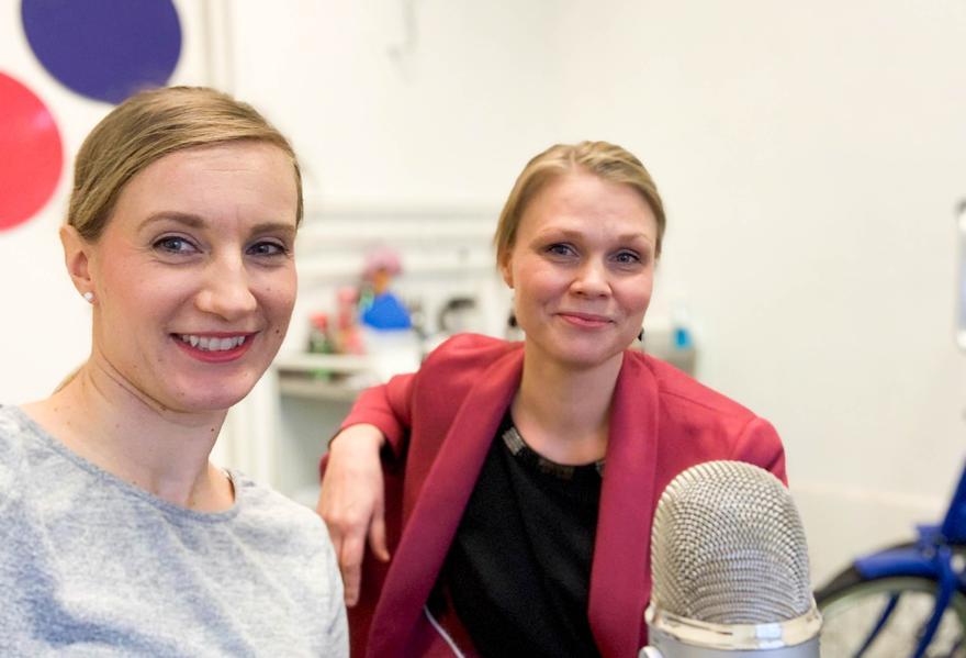 Sara Härmälä ja Sirkku Jauhiainen