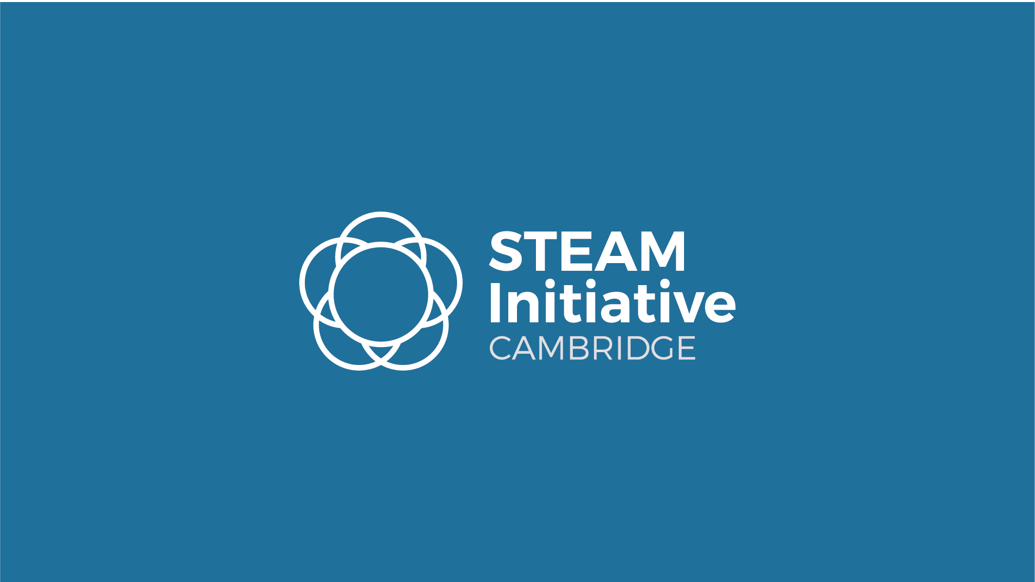 Cambridge STEAM Initiative Main Logo Banner