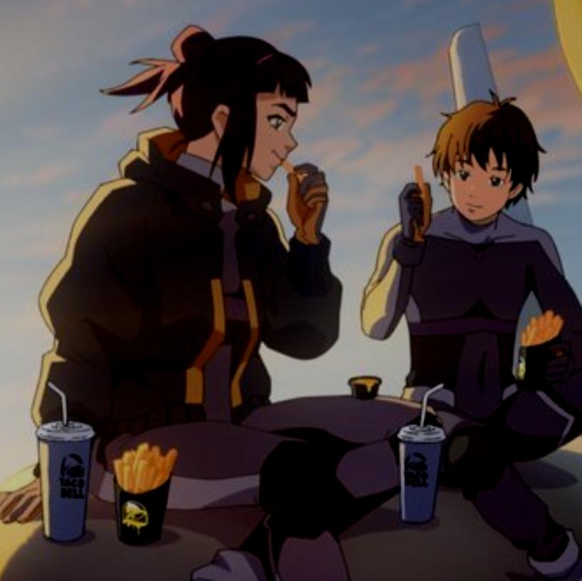 Taco Bell Introduces the 'Fry Force' anime cartoon