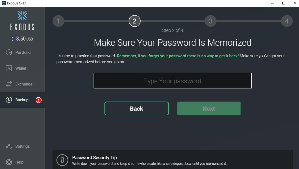 Realizando seu backup de segurança