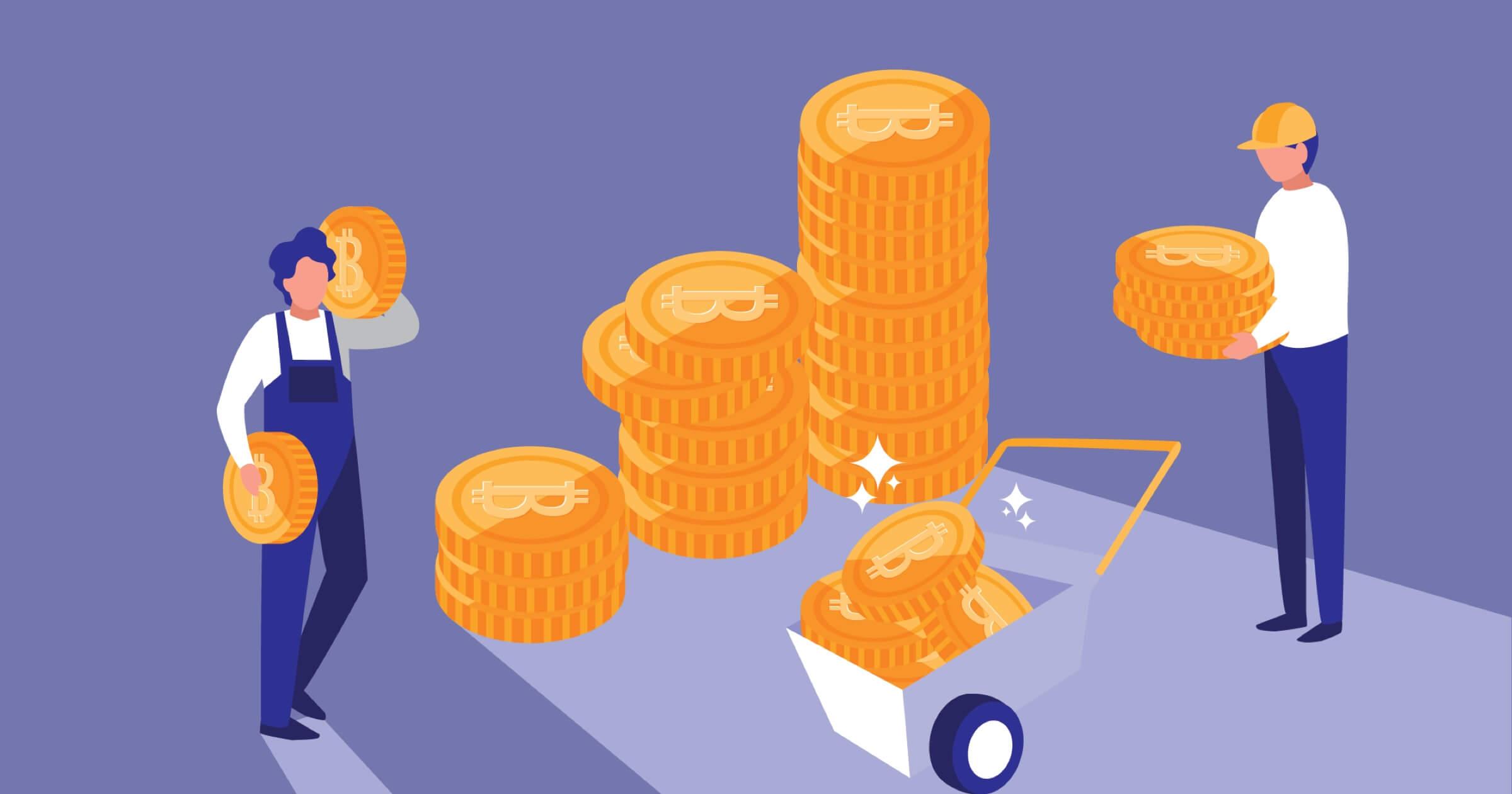 O que é mineração de bitcoin?