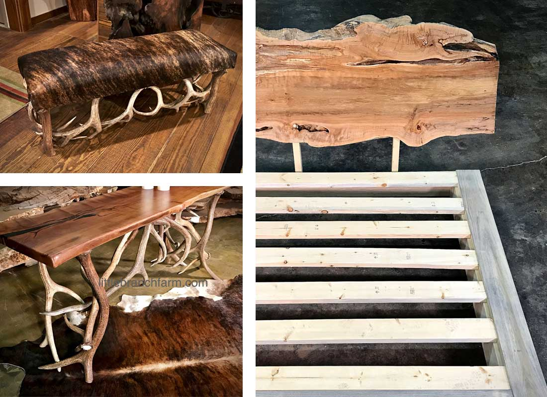 Little Branch Farm Handcrafted Live Edge Furniture