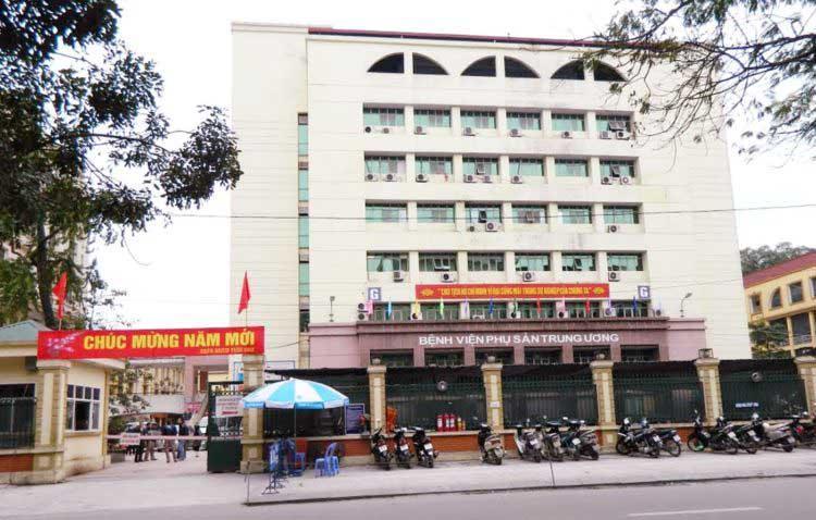 Viện phụ sản trung ương bệnh viện phụ khoa uy tín ở hà nội