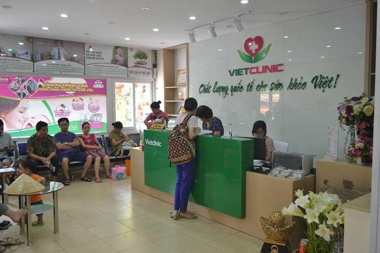 Đa khoa Vietclinic là phòng khám phụ khoa tư nhân tốt và uy tín tại Hà Nội