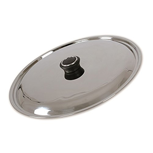 Stainless Steel Lid with Knob