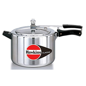 Classic aluminium pressure cooker