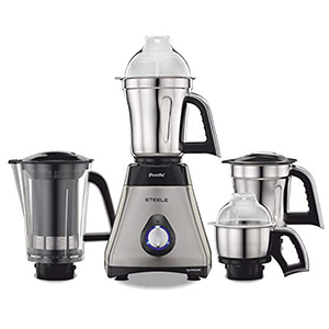 Steel supreme mixer grinder