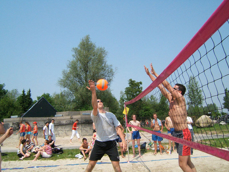 Filet d'entrainement beach-volley